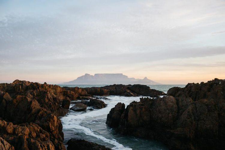 Die Sicht auf den Tafelberg - Foto von Jonny Hayes aus Südafrika.
