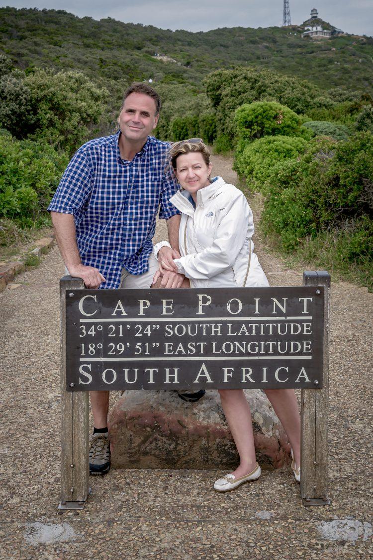 Der stolze Gewinner Alexander Hill mit seiner Frau.