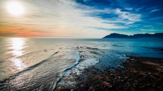 eddie oosthuizen cape town sunset ocean sea drone
